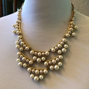 Stella& Dot Francis Pearl Necklace